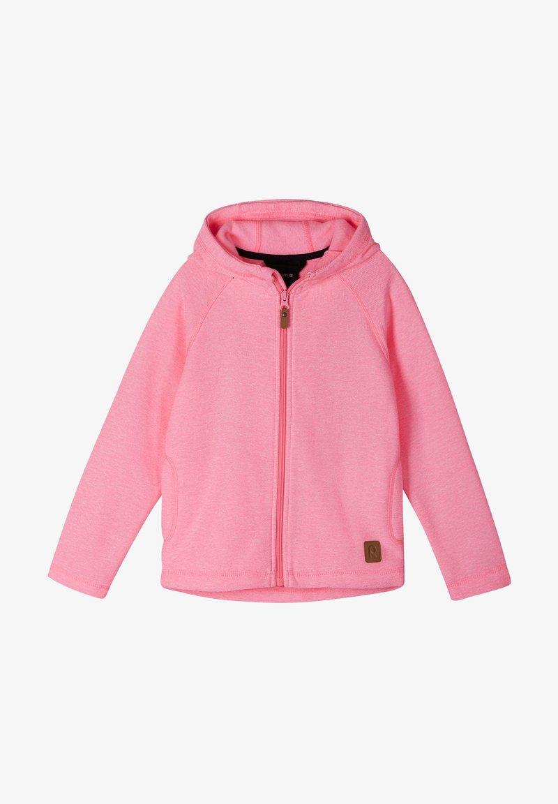 Reima - HAAVE - Zip-up sweatshirt - neon pink