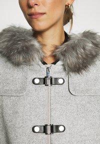 Esprit Collection - MIX COAT - Zimní kabát - light grey - 5
