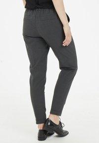 Kaffe - NANCI JILLIAN - Trousers - dark grey - 2