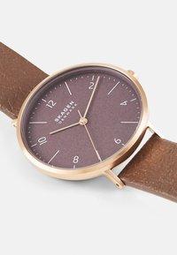 Skagen - Watch - brown - 3