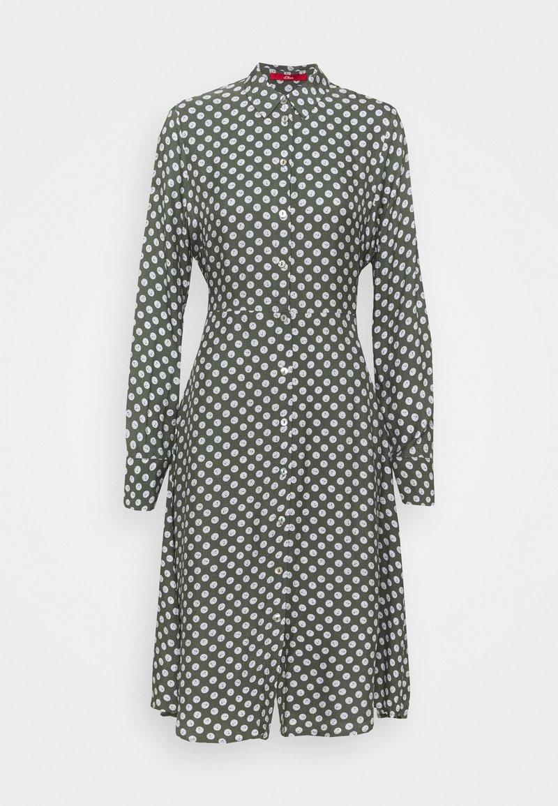 s.Oliver - Shirt dress - khaki