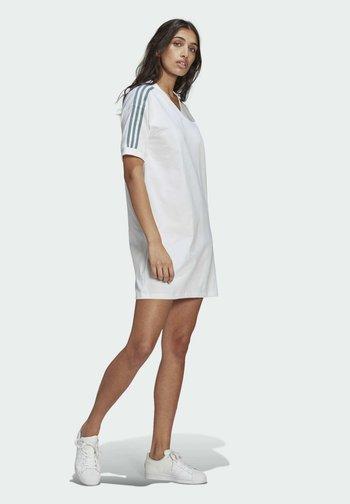 TEE DRESS - Jersey dress - white