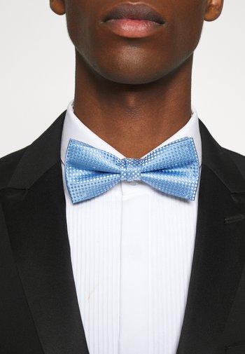 JACSANTANDER BOW TIE - Fluga - cashmere blue/white