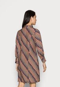 Closet - CLOSET PUFF SLEEVE DRESS - Shirt dress - teal - 2