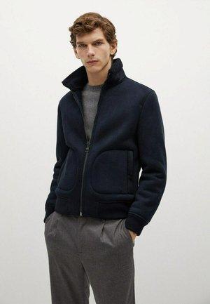 VINCI - Zip-up hoodie - dunkles marineblau