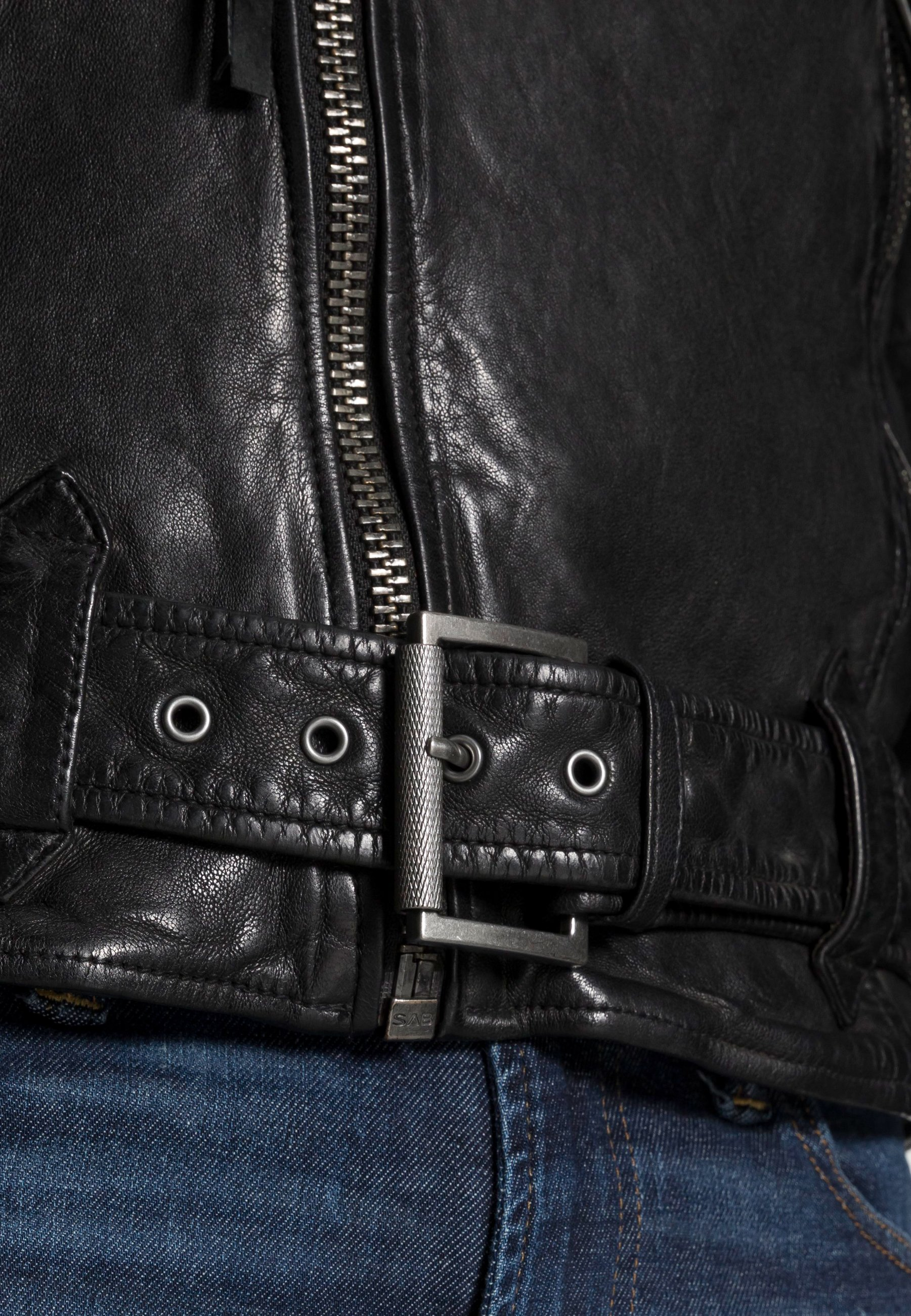 Men ETHAN - Leather jacket