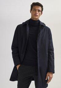 Massimo Dutti - 03421243 - Down jacket - dark blue - 5