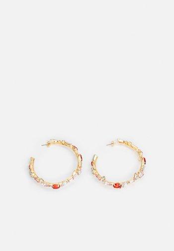 PCMAGGYA EARRINGS - Earrings - gold-coloured/multi