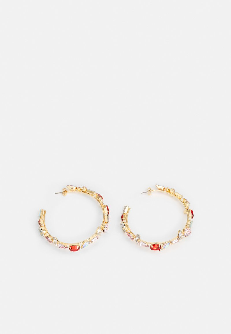 Pieces - PCMAGGYA EARRINGS - Earrings - gold-coloured/multi