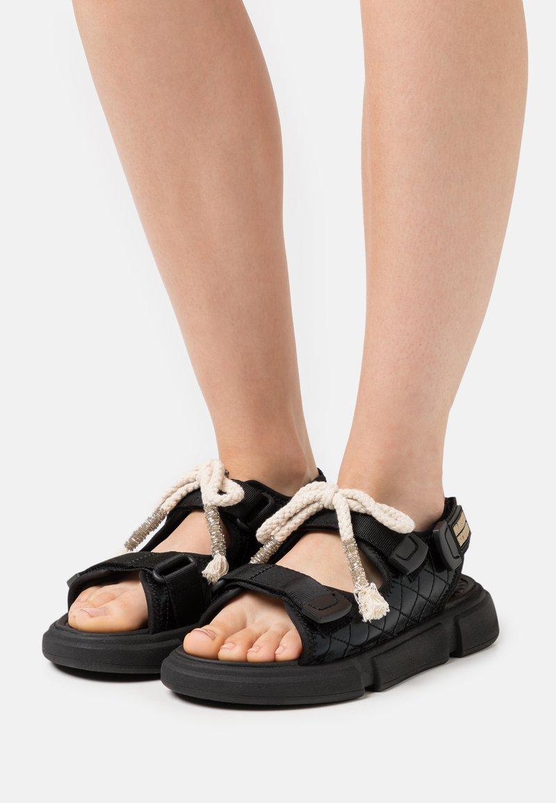 Scotch & Soda - DAISIE SPORT - Sandals - schwarz