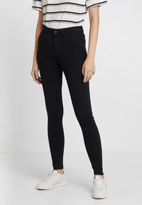 Vila - VICOMMIT - Jeans Skinny Fit - black - 0