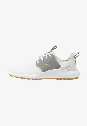 IGNITE NXT CRAFTED - Zapatos de golf - white/high rise/team gold