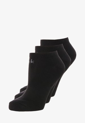 LOGO SNEAKER 3 PACK - Socks - black