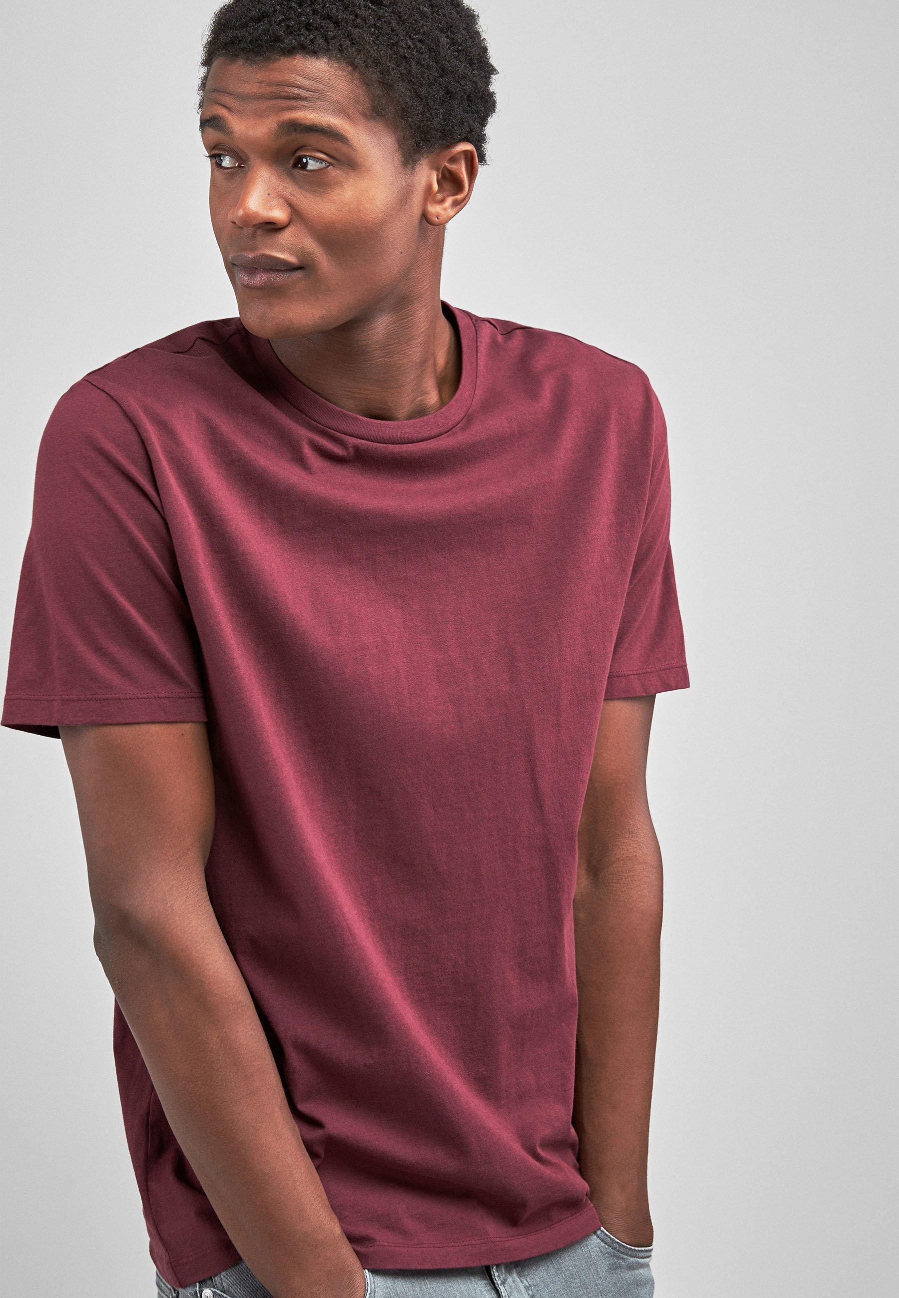 Uomo MAROON - T-shirt basic