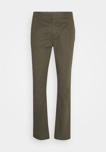 SOLID STRETCH - Chino kalhoty - woodland green