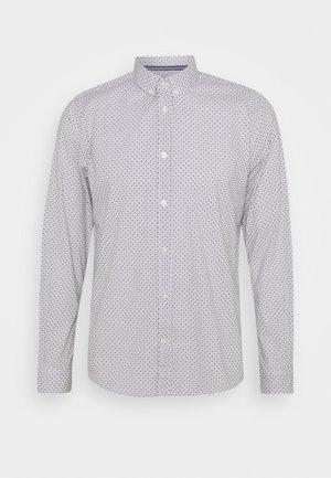 REGULAR PRINTED - Overhemd - white/navy