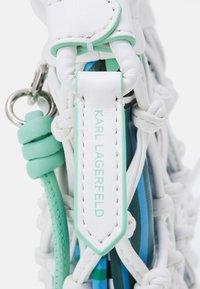 KARL LAGERFELD - KNOTS MINI HOBO - Handbag - off white - 3