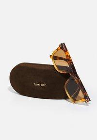 Tom Ford - UNISEX - Zonnebril - coloured havana/brown - 4