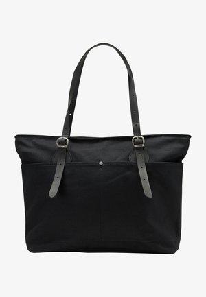 DREIMASTER SHOPPER - Bolso shopping - schwarz schwarz