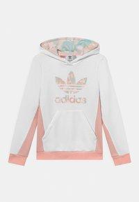 adidas Originals - HOODIE - Sweatshirt - white/haze coral - 0