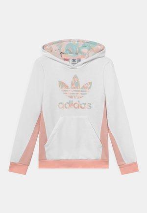 HOODIE - Sweatshirt - white/haze coral