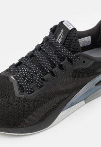 Reebok - NANO X1 - Zapatillas de entrenamiento - black/cloudgrey - 5