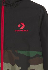 Converse - COLORBLOCK WIND JACKET - Light jacket - black - 2