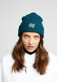 Obey Clothing - JUNGLE BEANIE - Lue - pine - 3