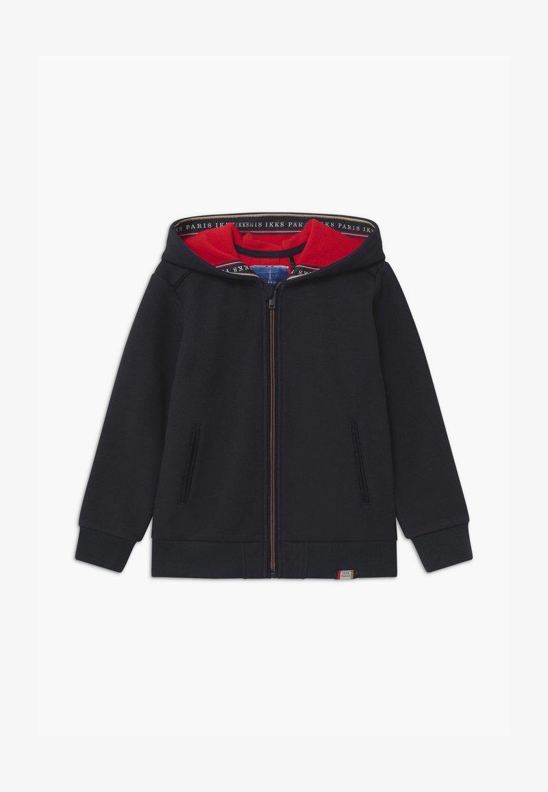 IKKS - NAVY SMART ZIP THROUGH HOODIE - Zip-up hoodie - navy