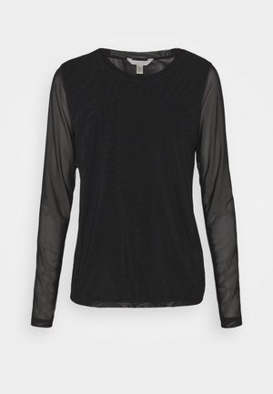 Long sleeved top - true black