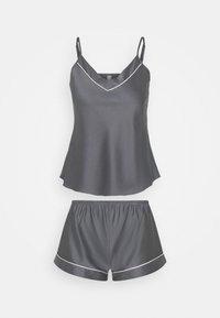 TOP WITH FRENCH KNICKERS - Pyjama set - grey