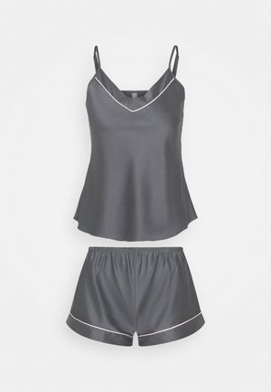 TOP WITH FRENCH KNICKERS - Pyjama - grey