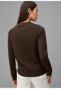 Marc O'Polo - Jumper - dark chocolate - 2