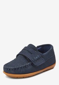Next - NAVY NUBUCK PENNY LOAFERS (YOUNGER) - Moccasins - blue - 2