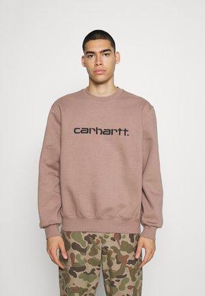 CARHARTT - Sweatshirt - earthy pink/black