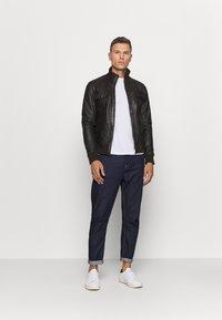 Serge Pariente - DANY - Leather jacket - brown - 1