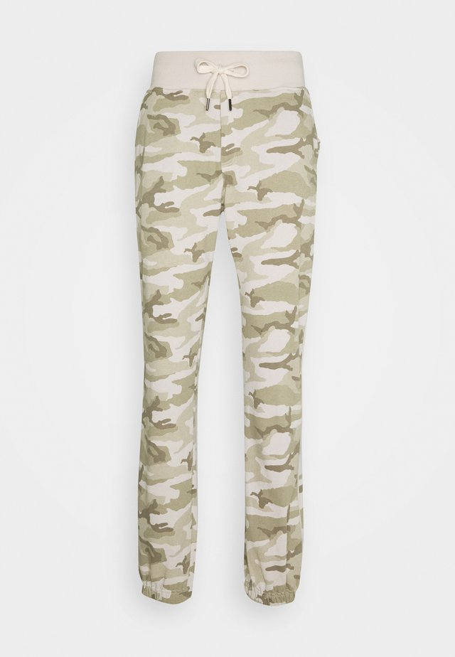 PHIL COMBAT - Tracksuit bottoms - desert beige