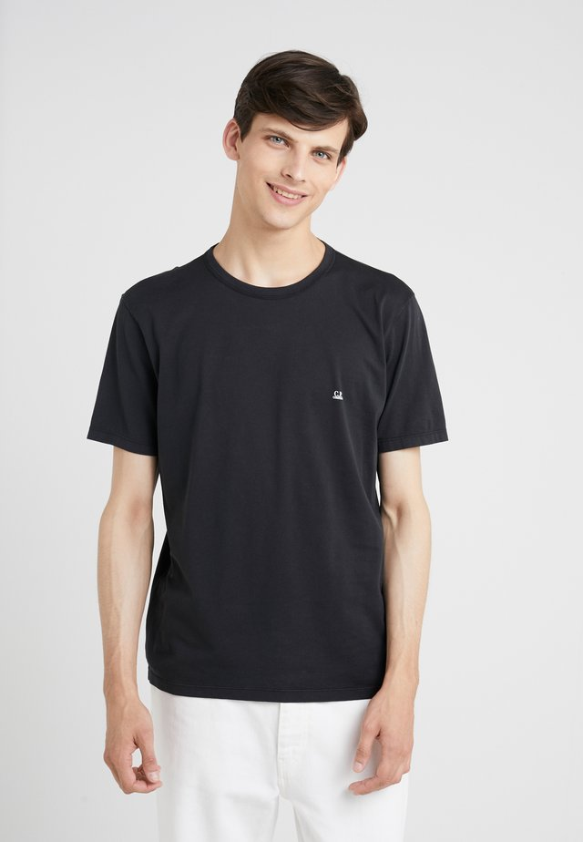 SMALL LOGO SHORT SLEEVE - Jednoduché triko - black
