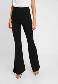 Missguided - TROUSER FLARE - Trousers - black - 0