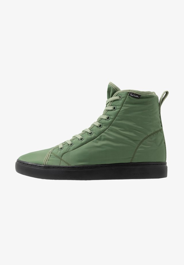 DREYFUSS - Sneakersy wysokie - greyish green