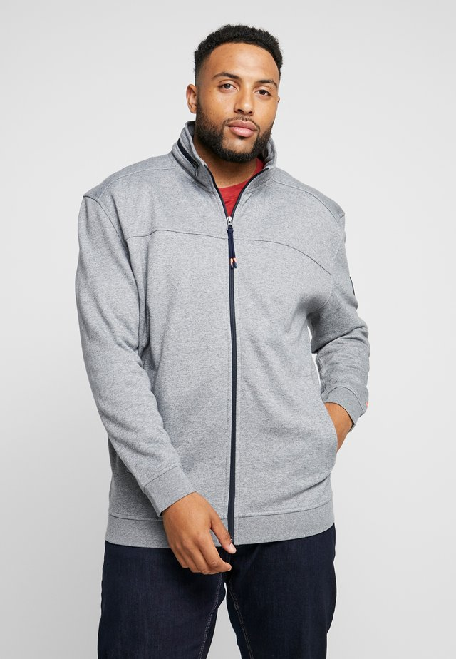 JACKET FELPA - veste en sweat zippée - fog grey