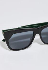Gucci - UNISEX - Sunglasses - black/green/grey - 3