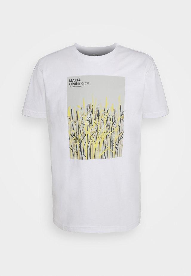 HARVEST  - T-shirts med print - white