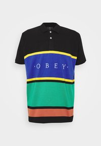 Obey Clothing - PLEDGE  - Polo - black/multi - 3