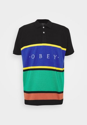 PLEDGE  - Polo - black/multi