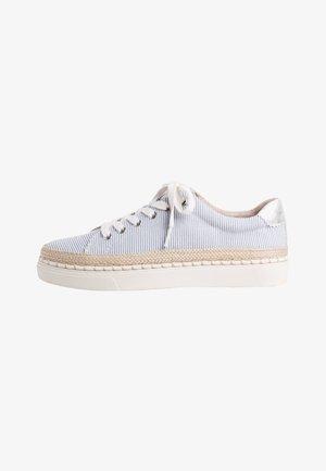 Sneakers laag - blue, beige