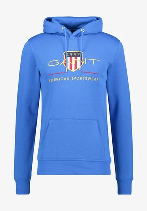ARCHIVE SHIELD HOODIE - Sweat à capuche - blue