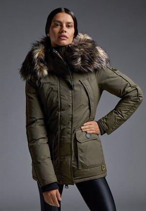 MOUNTAIN CLASSIC - Down jacket - khaki