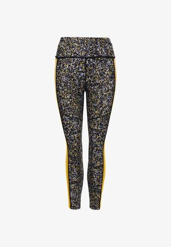 Leggings - Trousers - heavy worn in