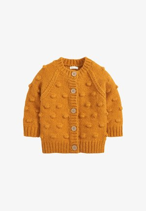 CHUNKY BOBBLE - Strickjacke - yellow
